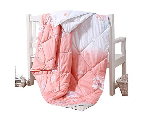 (Jinmi Bedding Soft Warm Couch Blanket Quilt, Ice Silk Summer Aromatherapy Can be Washed Thin Section Air Conditioning Individual Double Student 150 200cm Environmental Health)