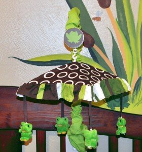 Frog Baby Musical Mobile For Dk Leigh Pollywog Pond by DK LEIGH