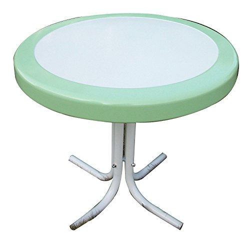 Metal Retro Round Table - 4D Concepts 71320 Metal Retro Round Table