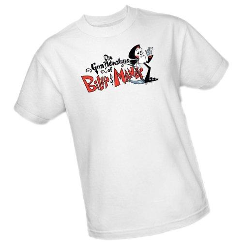 TV Show Logo -- Grim Adventures Of Billy & Mandy -- CN Adult T-Shirt, Small