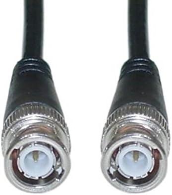 Cable coaxial RG59/BNC 75/Ohm macho conectores para v/ídeo y RF se/ñal 10/m