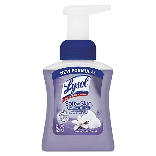lysol-brand-rec-00317-touch-of-foam-antibacterial-hand-wash-85-oz-creamy-vanilla-orchid-pump-bottle-