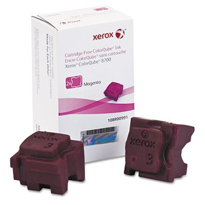 108R00991 SOLID INK STICK, 4200 PAGE-YIELD, MAGENTA, 2/BOX ()