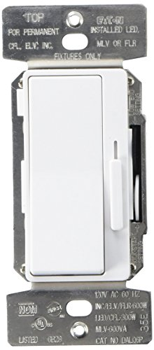 Eaton DAL06P-C5 Al Series Single Pole/3-Way Decorator Dimmer Switch, Color Kit, Multi