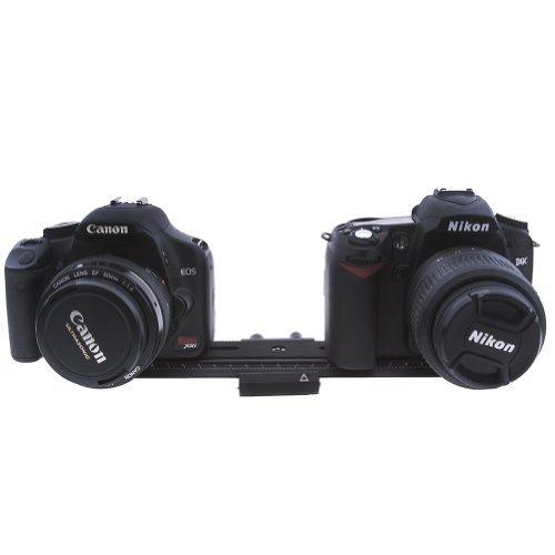 "NEEWER® 26cm Macro Shot Focusing Focus Rail Slider 1/4"" Quick Screw Release Mount for Flash DSLR Camera"