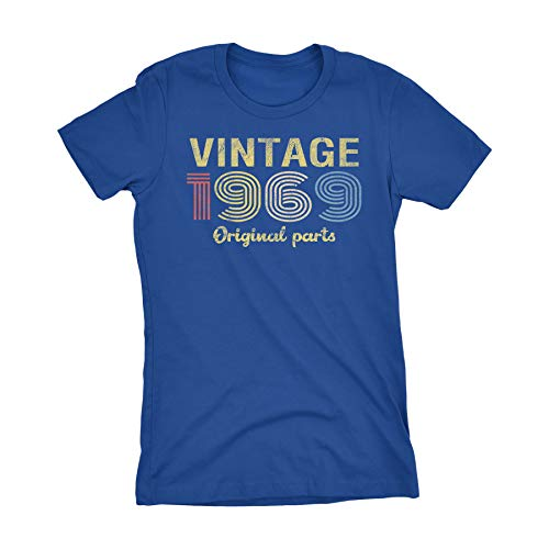 (50th Birthday Gift Womens T-Shirt - Retro Birthday - Vintage)