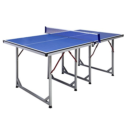 Hathaway Reflex Mid-Sized 6' Table Tennis Table (Table Ball Fools)