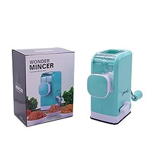 LDK Mandoline Slicer Vegetable Cuber Food Chopper, Veggie Pasta Salad Maker, Meat Grinder Manual Mincer, Quickly and Effortlessly for Grinding Meat, Sausages, Vegetables, Onion, Pepper etc