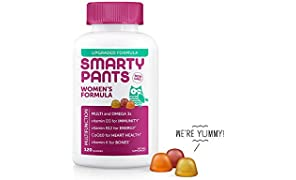 SmartyPants Women's Complete Daily Gummy Vitamins, 120 Count
