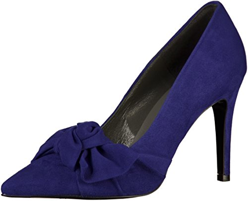 Court Heel Shoe Suede Violett Kaiser Peter High With Bow wHSnF