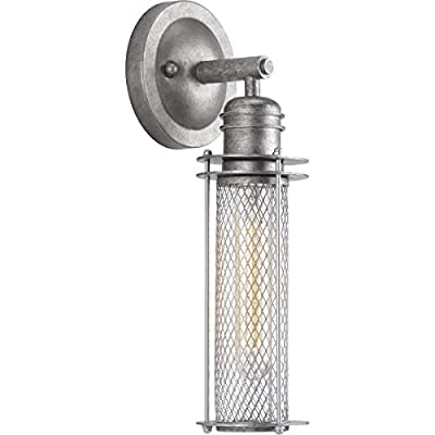 Progress Lighting Industrial One-Light Wall Sconce