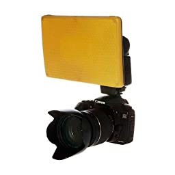 Graslon 4134 Snap-On Flat Amber Lens for Prodigy Flash Diffuser System
