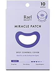 Rael Spot Control Cover Long - Large Patches, Hydrocolloid Strip for Breakouts, Extra Coverage Acne Patch (10 Count)