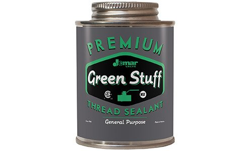 - Jomar | 400-102, 4 oz can, Green Stuff, Slow-Drying Soft-Set General Purpose Thread Sealant