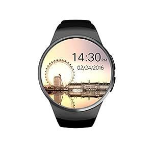 Negro atractivo Digital reloj, las mujeres de ritmo cardíaco Prueba ...