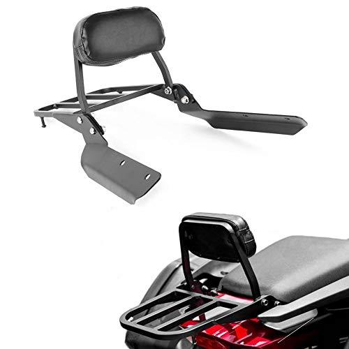 - GZYF Motorcycle Passenger Backrest Sissy Bar Luggage Rack Compatible with Honda CTX700 CTX700D CTX700N 2014-2018, Black