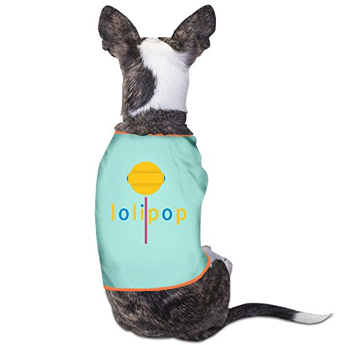 [Customed Pet Clothes Lolipop For Dog Cats 100% Polyester] (Costumes Halloween Yahoo)