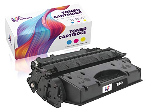 Az Supplies Compatible Toner Cartridge Replacement for Canon 120 (2617B001AA) 1 Black