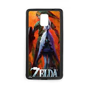 The Legend Of Zelda Game Samsung Galaxy Note 4 Cell Phone Case Black gift pp001_9415681