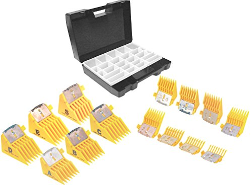 Laube Blade Case - Laube Big K Comb Snap-On Style Blade Combs, Set of 14