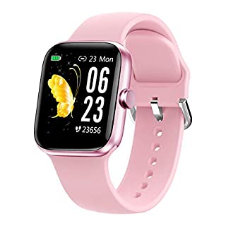 """Smart Watch for Men Women,Fitness Tracker with 1.54"""" Full Touch Color Screen,IP67 Waterproof Pedometer Smartwatch with Pedometer Heart Rate Monitor Sleep Tracker for Android and iOS Phones"""