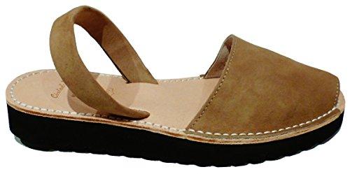 varios Avarcas con cm plataforma 2 cuña abarcas sandalias Camel albarcas 5 menorquínas colores nnqwTBC