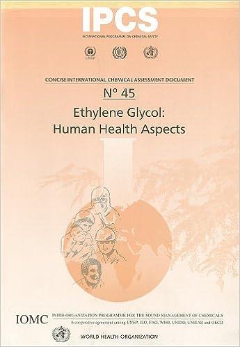 Ethylene Glycol: Human Health Aspects (Concise International ...