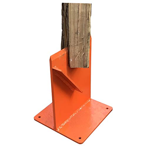 Lowest Prices! Hi-Flame Firewood Kindling Splitter for Wood Stove Fireplace and Fire Pits, Orange