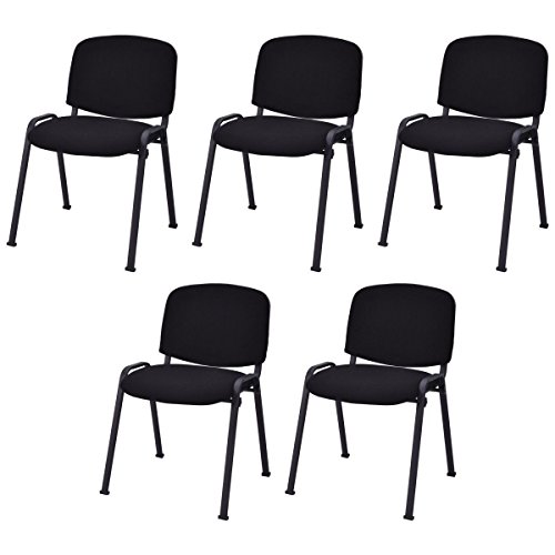 Conference Chair Elegant Design Office Waiting Room Guest Reception New-Set of 5 - Dream Quest Twin Sleeper