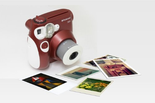 Polaroid 300 Instant Camera PIC-300 Red (B003B2GTYU