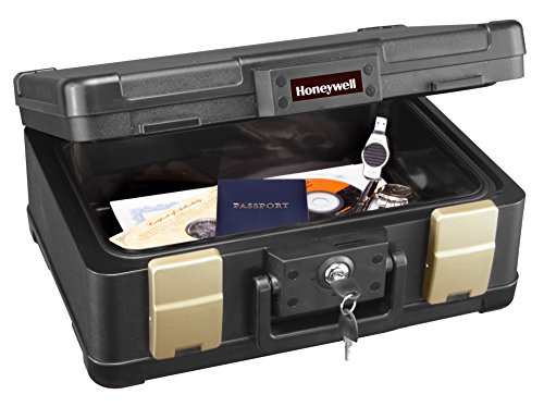 Honeywell 1103 1/2 Hour Fire/Water Safe Chest 0.24 Cubic Feet