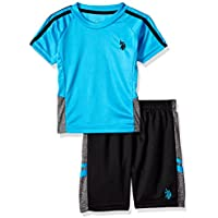 U.S. Polo Assn. Boys' T-Shirt and Mesh Short Set