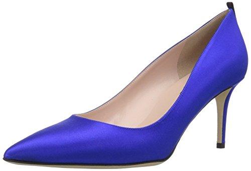 Sarah Satin Expert By Dress Blue Parker Jessica Sjp 70 Pump Fawn Women's 45ROf