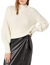 Women's Ines Chunky Rib Mock-Neck Sweater