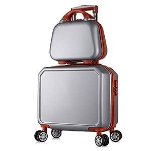 La maleta Trolley de Equipaje Dos Piezas Traje de 16 Pulgadas ...