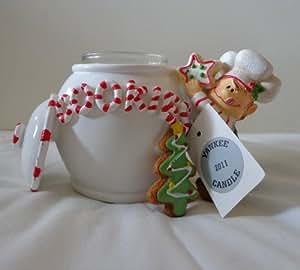 Yankee Candle 2011 Holiday Elf and Cookie Jar Tea Light Holder