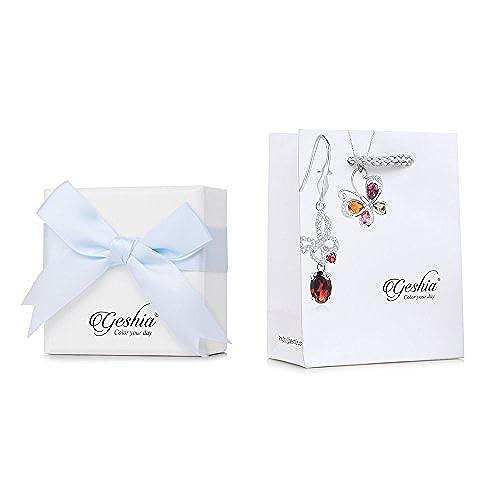 6fd853bdcd3c Moda plata de ley 925 Micro ajuste colgante mujer perla natural de color  blanco Nuevo