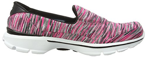 Zapatillas Para Caminar Skechers Performance Mujeres Go Walk 3 Crazed Pnk / Blk