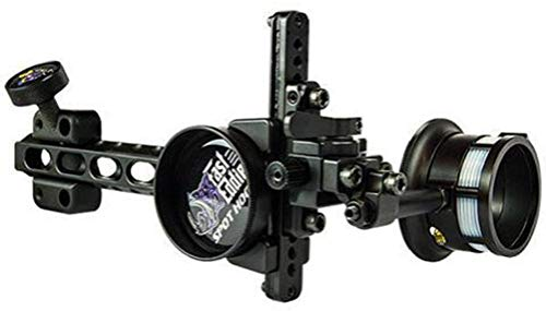 Spot Hogg Fast Eddie XL Long Bar Wrapped Bow Sight Single 1-Pin .019 Right ()