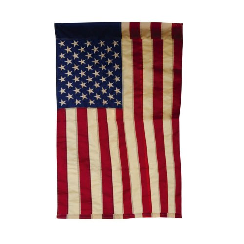 Tea Stained Patriotic American Flag