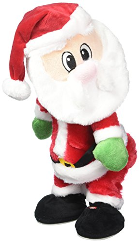 Twerking Dancing Plush Animated Christmas Santa [Song - Fireball.]