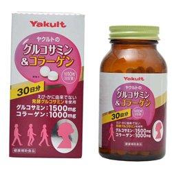 【ヤクルトヘルスフーズ】グルコサミン&コラーゲン 300粒 ×10個セット B00XJ3K71M