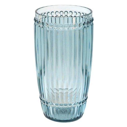 Case Pack of 24 Le Cadeaux Milano Teal Blue Polycarbonate Long Drink Glasses by Le Cadeaux