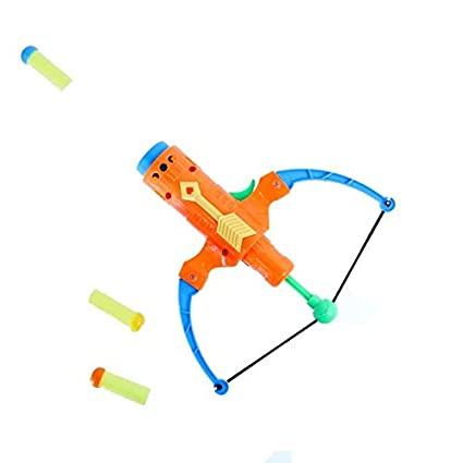 Dazzling Toys Trigger Action Bow and Arrow Set with Foam Arrows