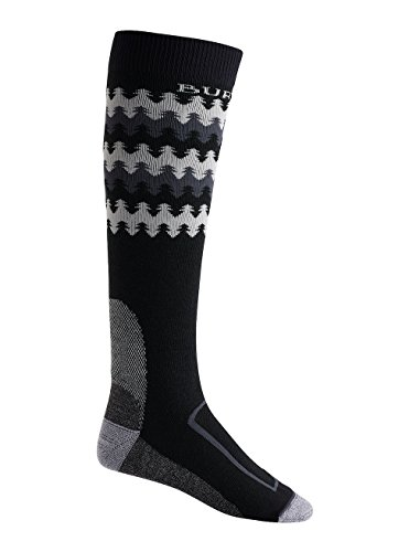 (Burton Men's Buffer II Sock, True Black W18, Large )