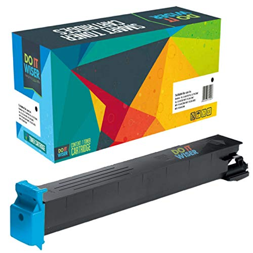 Do it Wiser Compatible Toner for Konica Minolta BizHub C353 C253 C203 | TN213 TN213C (Cyan) ()