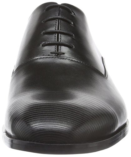 Hugo Square_Oxfr_Ltls 10193331 01, Zapatos de Cordones Oxford para Hombre Negro (Black 001)