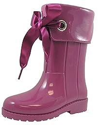 Igor Kids Campera Charol Synthetic Tall Rain Boot(Egg, 23)