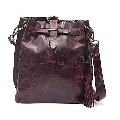 Sheli Ladies Medium Sak Handbags Fringe Leather Purse Women Buddha Cross Body Bag Satchel Vintage … by SHELI