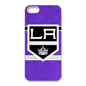 Funda iPhone 5 5s 5SE caso del teléfono celular Funda LA Kings blancos S8R1QV